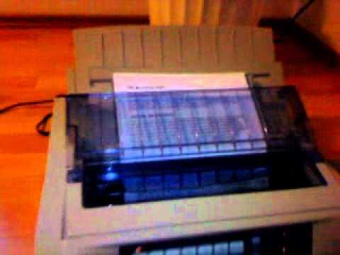oki microline ml 5520 youtube rh youtube com oki microline 5520 setup oki microline 5520 user manual