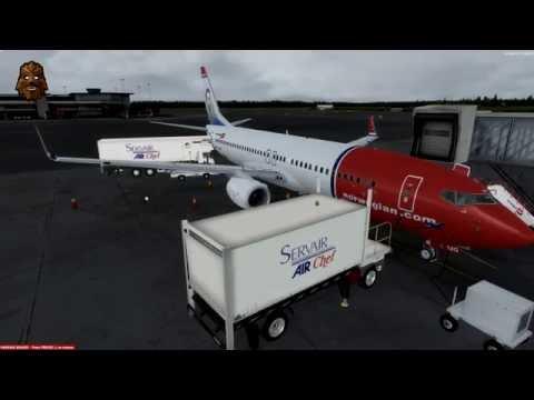 [P3D v3.3] Stockholm Arlanda (ESSA) - Malaga (LEMG) Full Flight | NAX4221 PMDG 737NGX