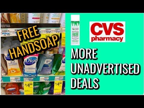FREE HANDSOAP!! | MORE UNADVERTISED DEALS AT CVS 💃 (7/14 – 7/20)