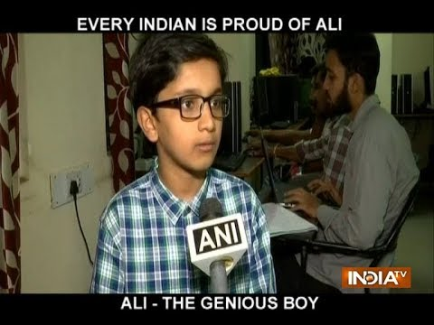 11-year-old Hyderabad boy Md Hasan Ali coaches engineering students