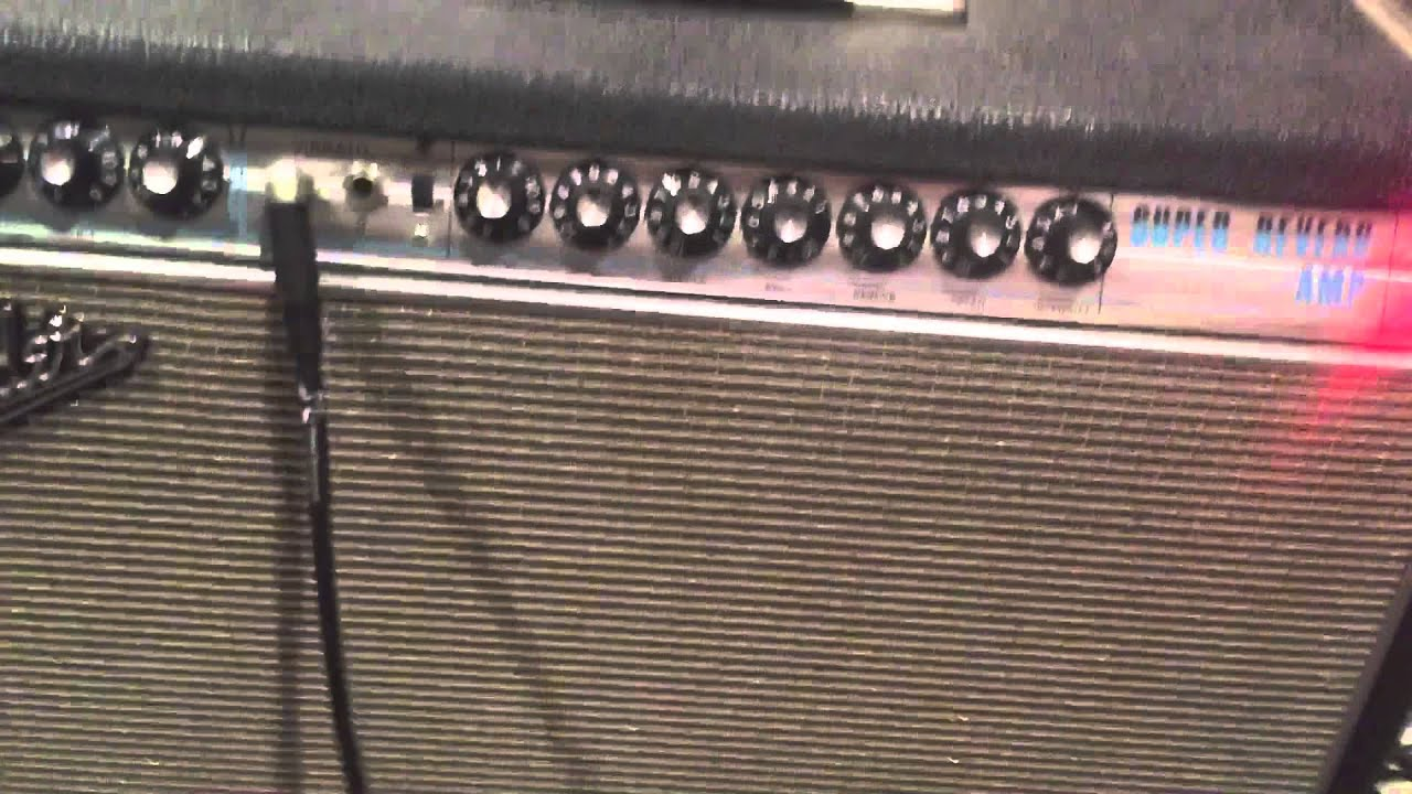 1968 Silverface Super Reverb
