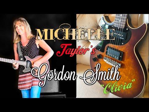 Michelle Taylor´s Custom Gordon Smith Guitar