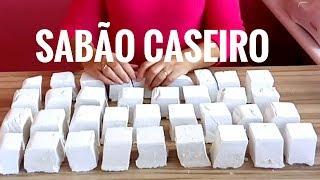 COMO FAZER SABÃO CASEIRO REUTILIZANDO ÓLEO DE COZINHA