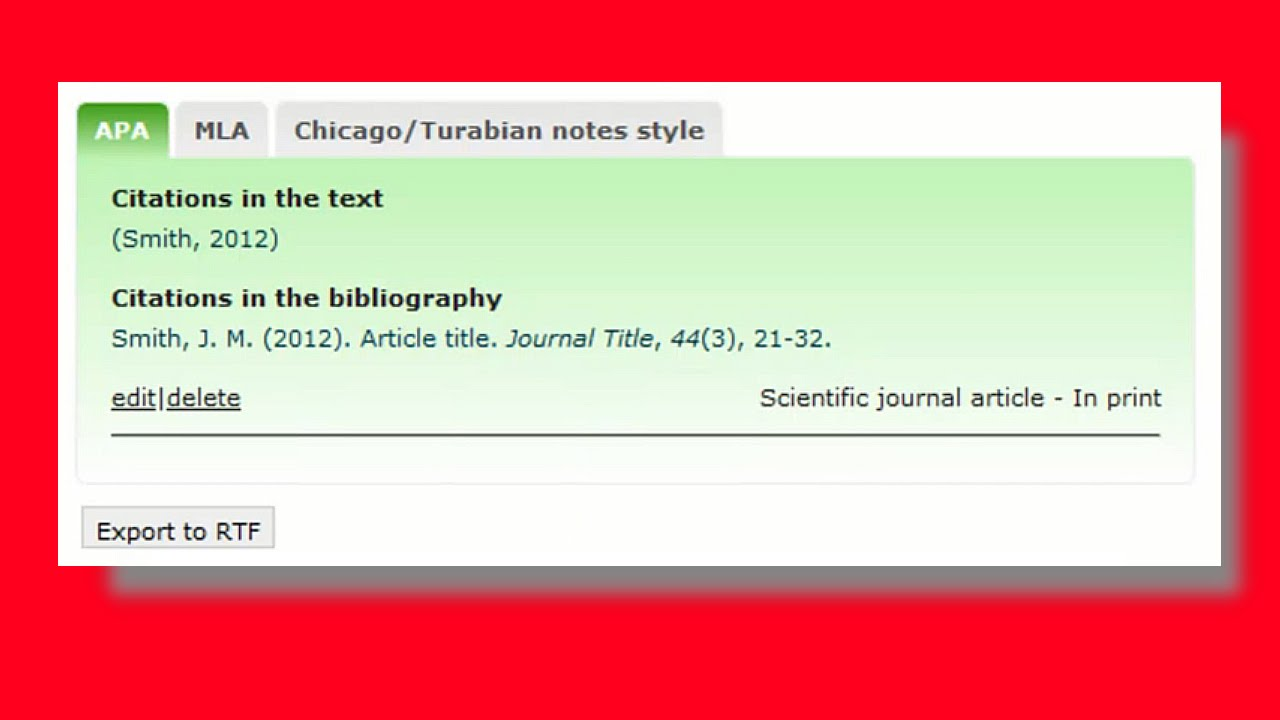 """chicago style citations generator With our free and easy-to-use citation generator, there is no more """"ugh"""" automatically create bibliographies in the format you want, including apa, mla and chicago styles go ahead give it a whirl web web book  (helpful when using the chicago manual of style."""