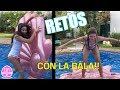 RETOS en el agua con La Bala!!!!  Hay un castigo para el perdedor!!! LA DIVERSION DE MARTINA
