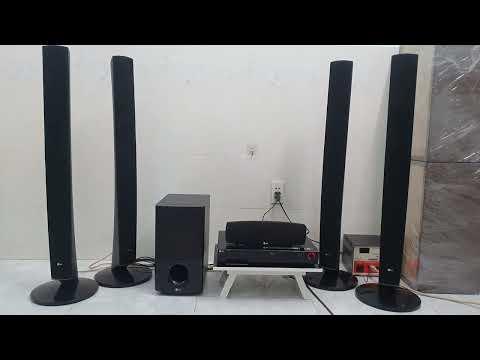 Dàn âm thanh 5.1 LG – âm thanh uy lực – thiết kế miễn bàn [Nguyễn Bách audio – 0932005022]