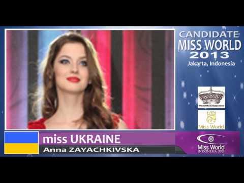 MISS UKRAINE Candidate Miss World 2013