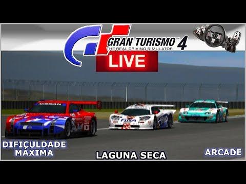 SUPRA WOODONE em LAGUNA SECA - Gran Turismo 4  AO VIVO thumbnail