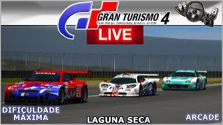 SUPRA WOODONE em LAGUNA SECA - Gran Turismo 4  AO VIVO