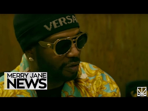 Juicy J Talks Belly, Weed, & Rubba Band Business | MERRY JANE News