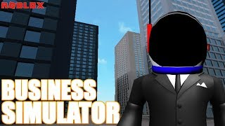 ROBLOX - BUSINESS SIMULATOR - STARTING A COMPANY
