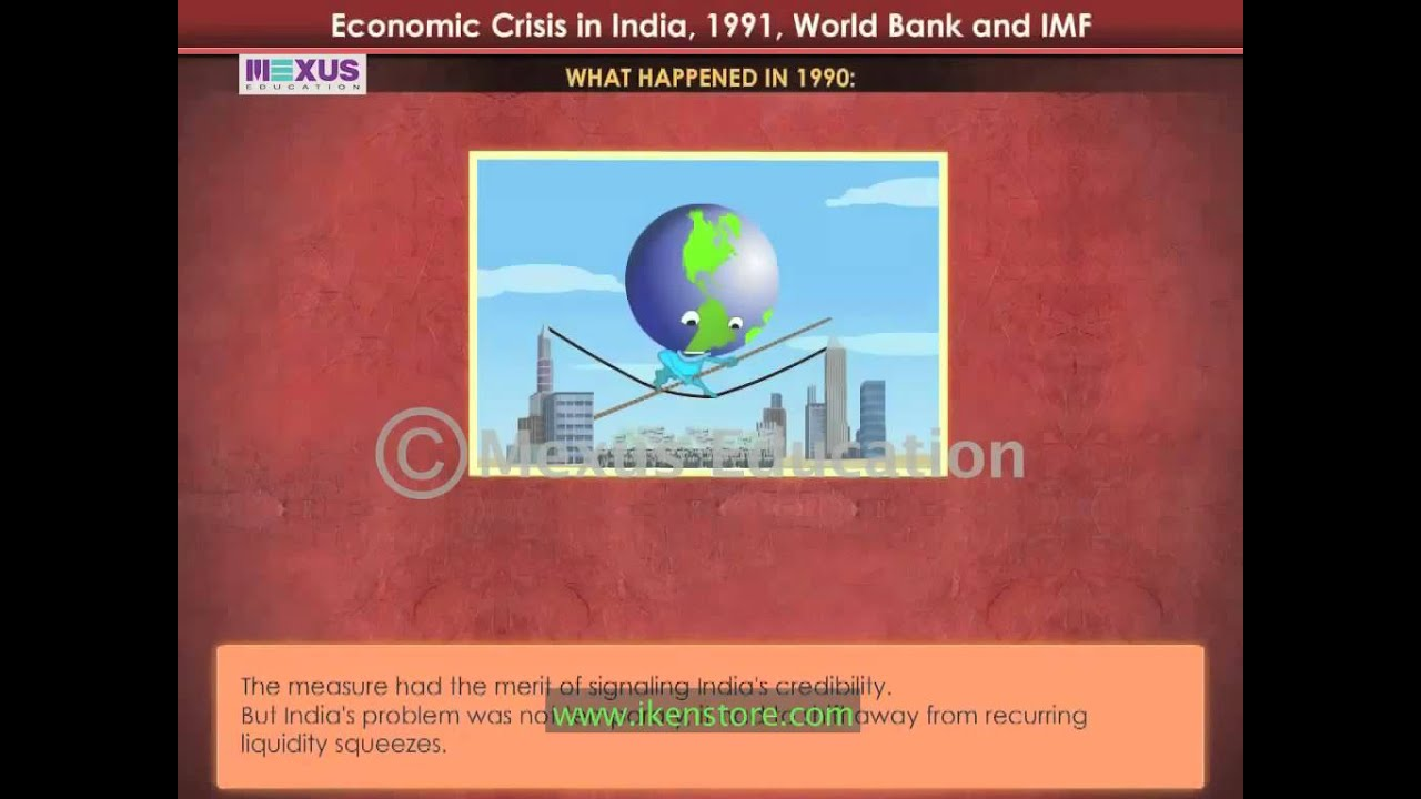 1991 india economic crisis Causes for indian crisis 1991 1990-91 foreign exchange crisis conclusion 1990-91 foreign exchange crisis when the new government assumed office (june 1991) we inherited an economy on the verge of collapse.