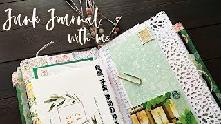 JUNK JOURNAL WITH ME S1:E11 | How To Use Junk Journal | Journaling Process