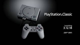 Sony announces new PlayStation Classic console - 80% SMALLER!