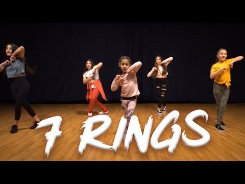 Ariana Grande – 7 Rings (Dance Video) | Easy Kids Choreography | MihranTV