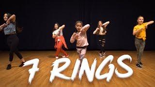 Ariana Grande - 7 Rings (Dance Video) | Easy Kids Choreography | MihranTV Video