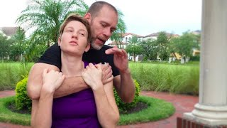 How to Train the Standing Rear Choke Escape - Core JKD