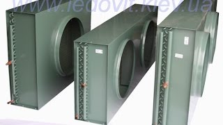 видео Компрессорные холодильные установки с конденсаторами воздушного охлаждения
