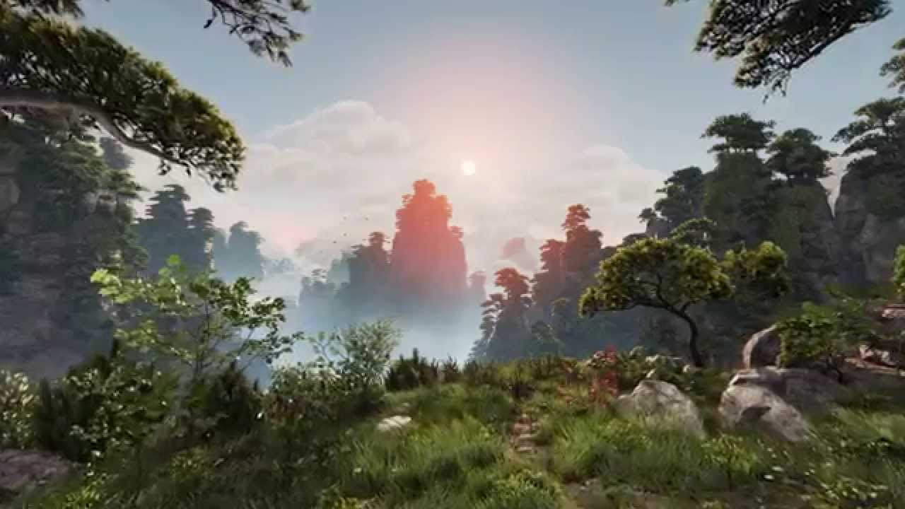 Huangshan Mountains – Insane Graphics In Unreal Engine 4 ...