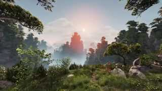 Unreal Engine 4 - Beeindruckende Tech-Demo »Huangshan Mountains«
