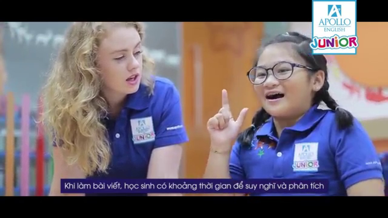 Lớp Speaking tại Apollo English | Tiếng Anh trẻ em