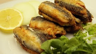 Turkish Anchovy Dolma Recipe - Fried Anchovies With Onion