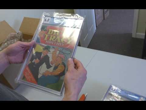 Unboxing a 7-Book Value Fast Track CGC Invoice | Sell My Comic Books