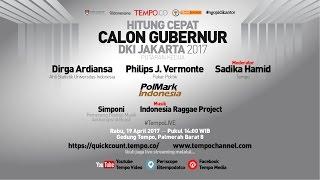 TEMPO LIVE: Quick Count Pemilihan Gubernur DKI Jakarta 2017