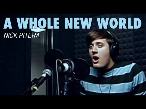 Клип Nick Pitera - A Whole New World