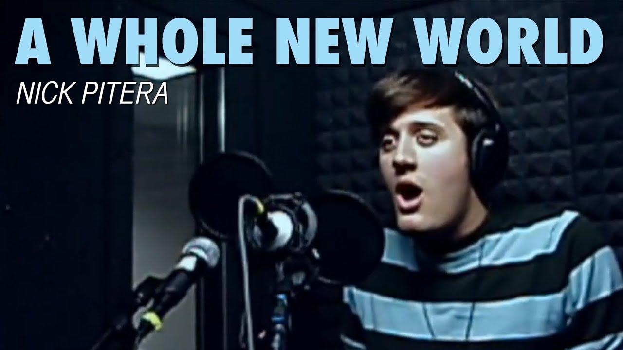 A Whole New World - Disney's Aladdin - Nick Pitera (Cover) - YouTube