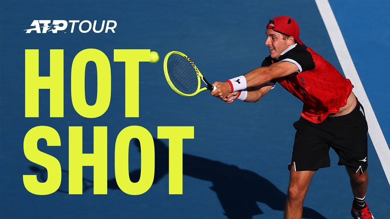 Hot Shot: Struff Scrambles To Win Great Point At Auckland 2019