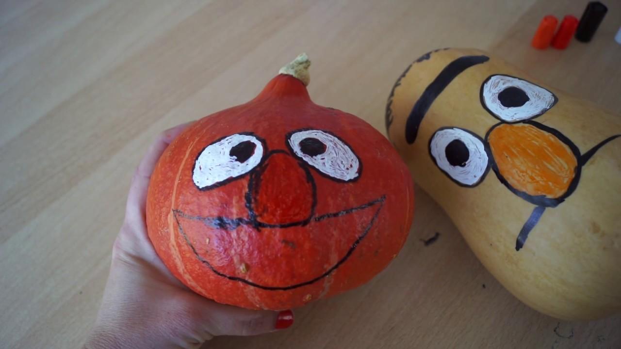 Kurbis Bemalen Ideen Deko Feiern Halloween 12 11