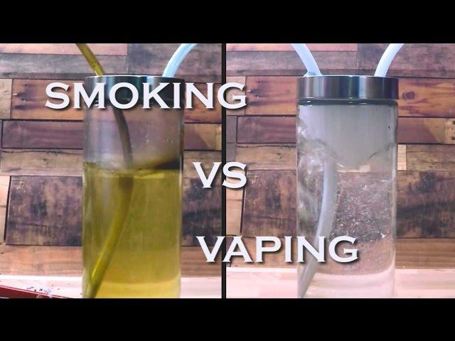 Smoking vs Vaping