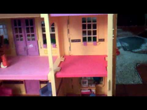 Review Of Fisher Price Loving Family Twin Time Dollhouse Pt  1