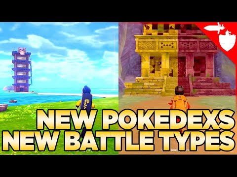 New Pokedex, Battles Types, Release Dates & More info on Pokemon Sword and Shield Expansion Pass DLC