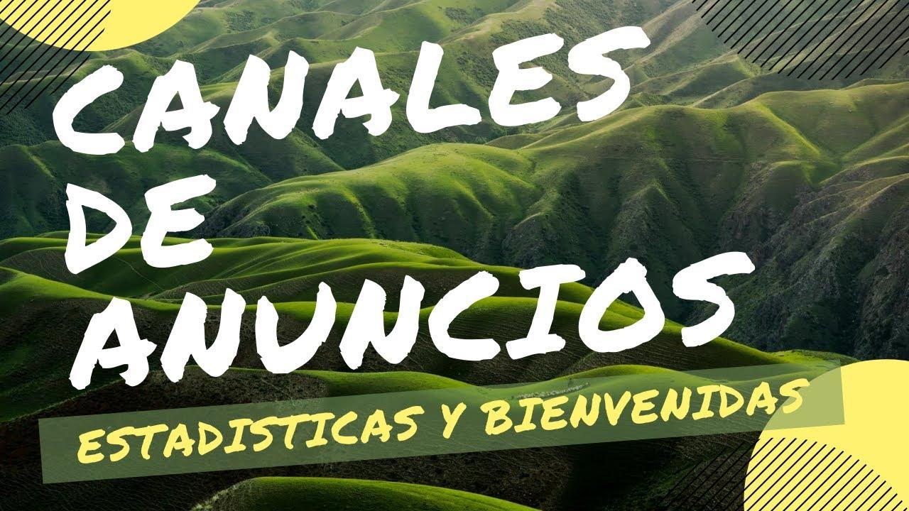 Activar CANALES de ANUNCIOS, ESTADÍSTICAS, BIENVENIDAS... *Nueva Función* | Discord