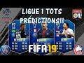 FIFA 19 LIGUE 1 TOTS PREDICTIONS!! FEAT. MBAPPE, NEYMAR, DEPAY ETC.. (TOTS PREDICTIONS)
