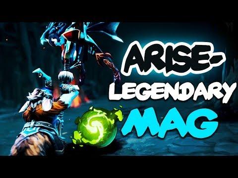 Arise The Legendary Magnus is back! Refresher Orb Build - Dota 2