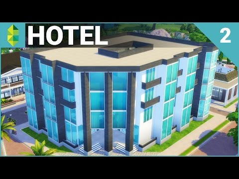 The Sims 4 Building - Hotel (Part 2)