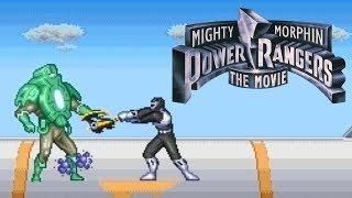 Mighty Morphin Power Rangers - The Movie (Gameplay em Português PT-BR)