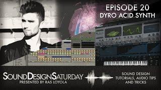 Sound Design Saturday 20 - Dyro's Acid Lead Synth with Serum
