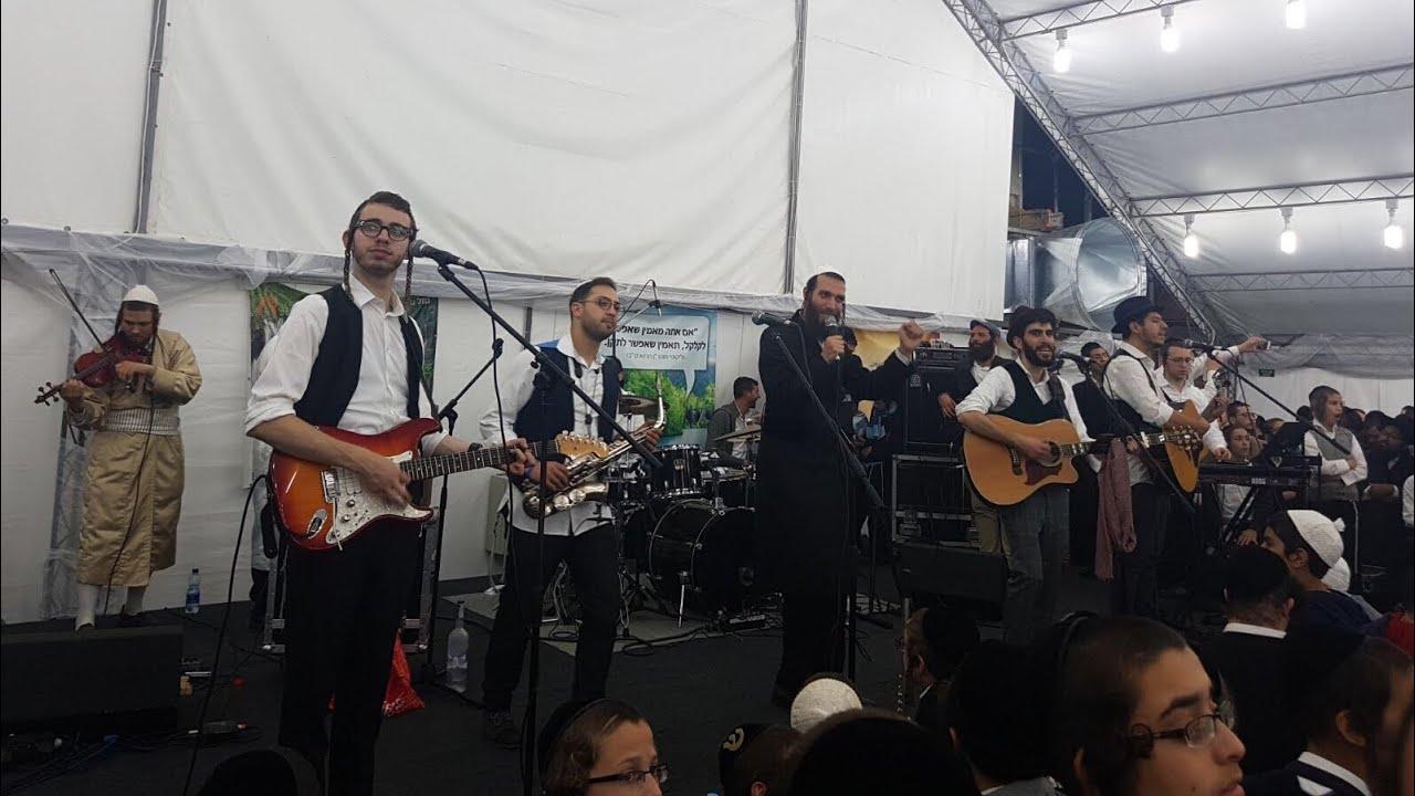 Beri Weber Concert Live In Uman Motzei Rosh Hashanah - 2017/5778