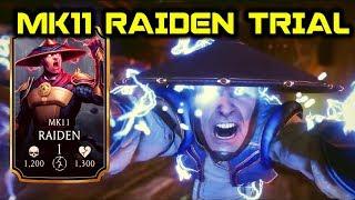 Mortal Kombat Mobile. MK11 Raiden Trial Tower 5. MK11 Raiden Trial Final Tower. Yass!Got MK11 Raiden