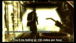Metal Gear Solid 3D: Snake Eater - Leap of Faith Cinematic