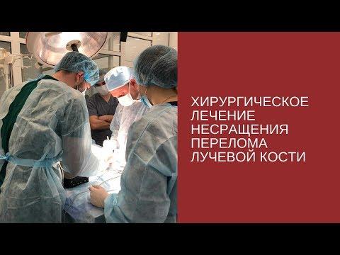 Хирургическое лечение несращения перелома лучевой кости у собак