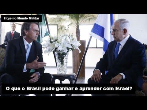 O que o Brasil pode ganhar e aprender com Israel?