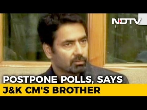 After 8 Die In Kashmir Violence, Chief Minister's Brother Says Delay Voting