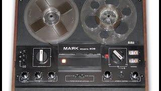 А что внутри :) Катушечный магнитофон ''Маяк-205'' 1982 г