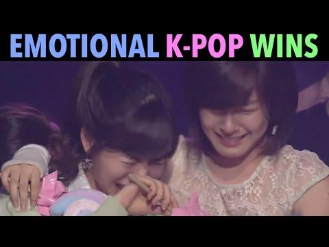 MOST EMOTIONAL K-POP MUSIC SHOW WINS! (1ST WINS & MORE)