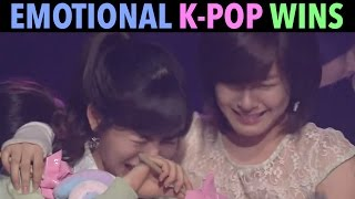 MOST EMOTIONAL K-POP MUSIC SHOW WINS! (1ST WINS & MORE) - Stafaband